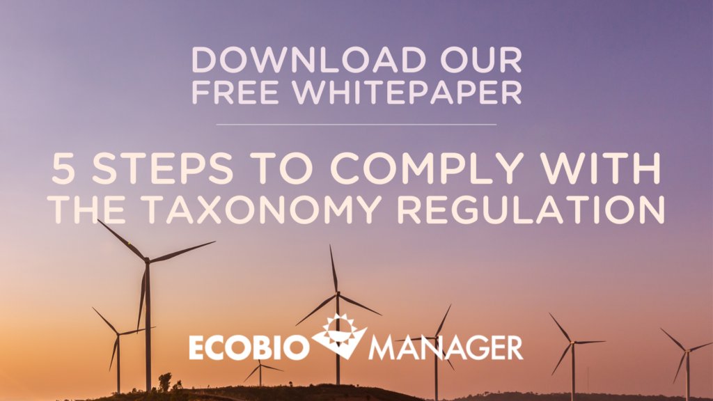 Five Steps to Comply with the Taxonomy Regulation